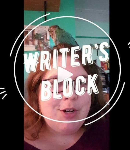 Writer's Block Advertisement Picture